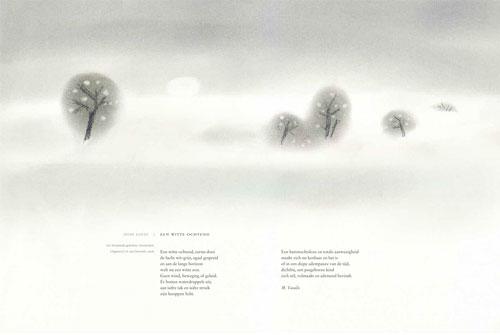 Illustratie voor gedichtenbundel